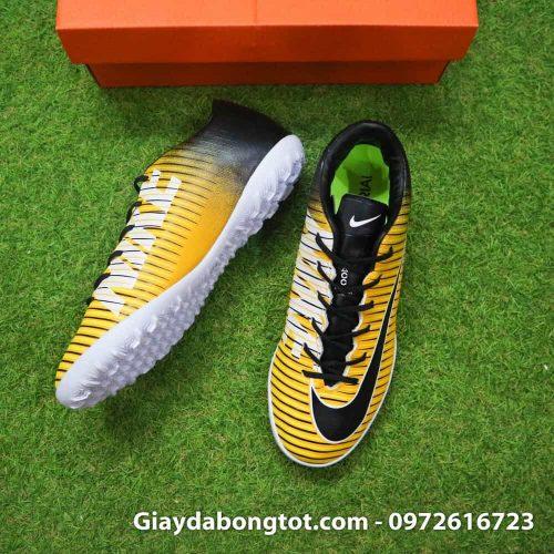 Giay bong da chan be Nike Mercurial Victory 6 TF mau vang den (5)