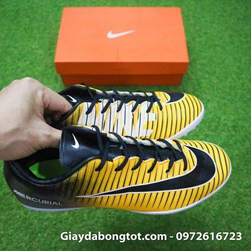 Giay bong da chan be Nike Mercurial Victory 6 TF mau vang den (6)