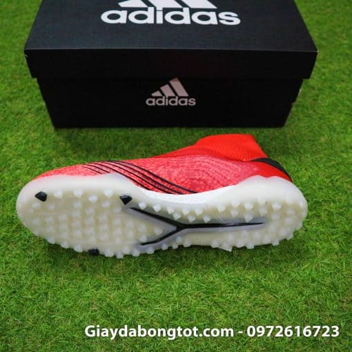 Giay bong da khong day Adidas Predator 19+ mau do 2019 (4)