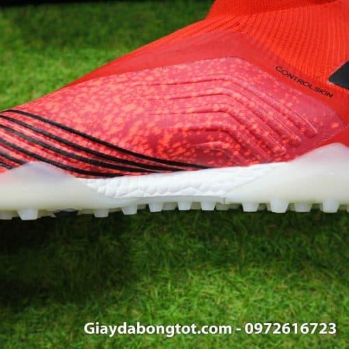 Giay bong da khong day Adidas Predator 19+ mau do 2019 (5)