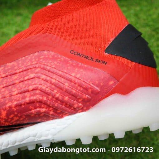 Giay bong da khong day Adidas Predator 19+ mau do 2019 (9)
