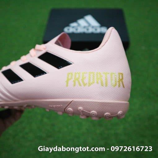 Giay bong da mau hong phan Adidas Predator 18.4 TF Xuan Truong (8)