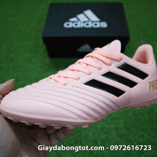 Giay bong da mau hong phan Adidas Predator 18.4 TF Xuan Truong (9)