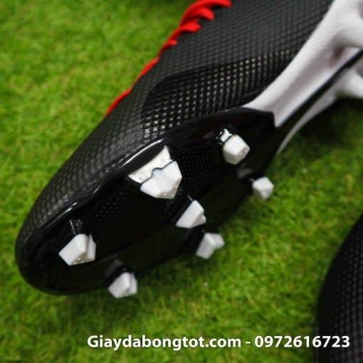 Giay bong da tre em Adidas X18.3 dinh cao FG den do sieu nhe (7)