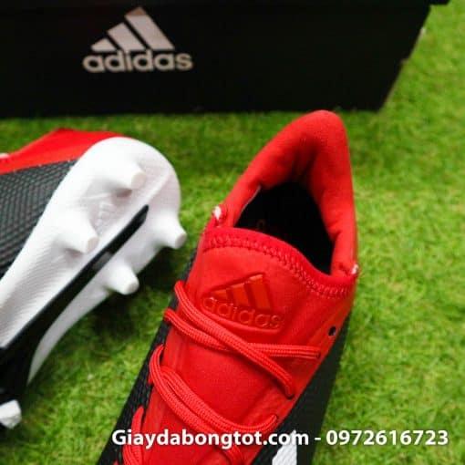 Giay bong da tre em Adidas X18.3 dinh cao FG den do sieu nhe (8)