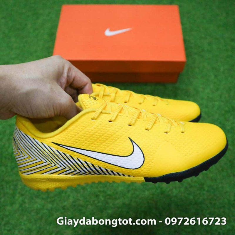 Giay bong da tre em Neymar Nike Mercurial mau vang Worldcup 2018 Vapor VII Pro TF (4)