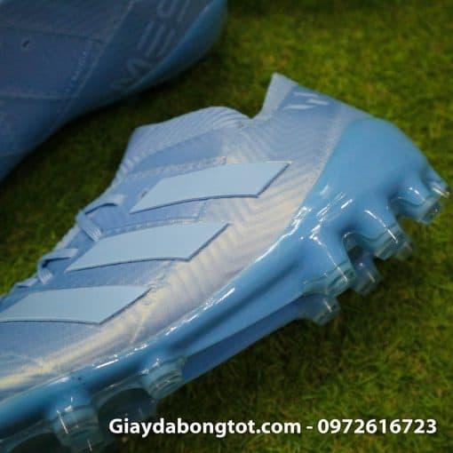 Giay da banh Adidas Nemeziz Messi 18.1 AG xanh duong nhat da vai (1)