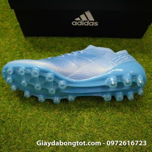 Giay da banh Adidas Nemeziz Messi 18.1 AG xanh duong nhat da vai (4)