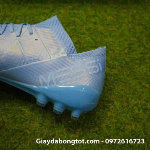 Giay da banh Adidas Nemeziz Messi 18.1 AG xanh duong nhat da vai (5)