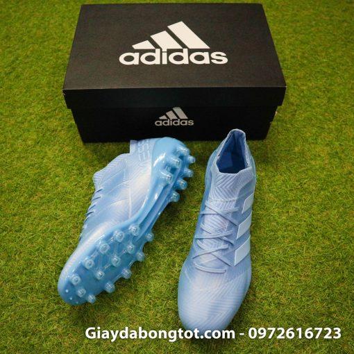 Giay da banh Adidas Nemeziz Messi 18.1 AG xanh duong nhat da vai (7)