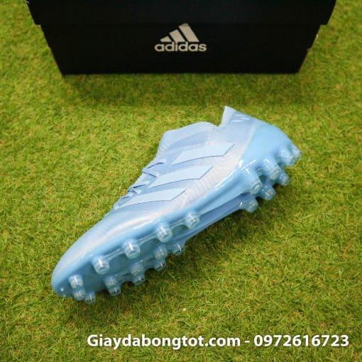 Giay da banh Adidas Nemeziz Messi 18.1 AG xanh duong nhat da vai (9)