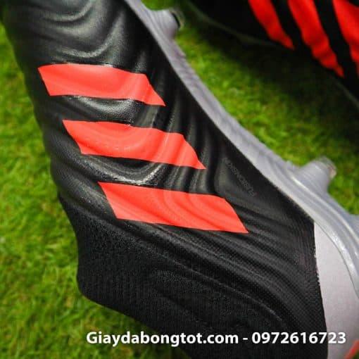 Giay da banh Adidas khong day Copa 19+ FG mau den (6)