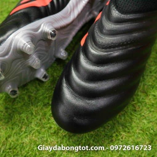 Giay da banh Adidas khong day Copa 19+ FG mau den (8)
