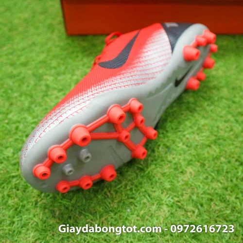 Giay da banh Nike CR7 dinh AG mau do got den chapter 7 (4)