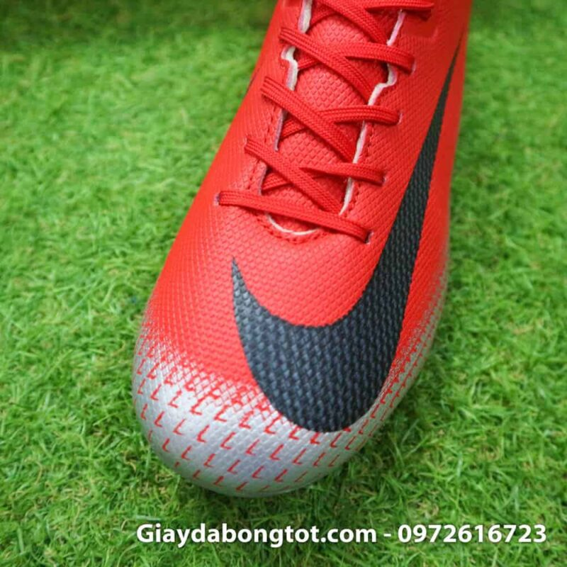 Giay da banh Nike CR7 dinh AG mau do got den chapter 7 (5)