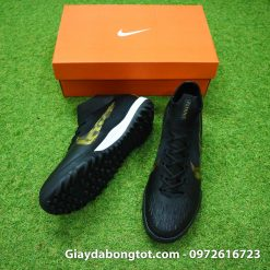 Giay da banh Nike co cao Mercurial Superfly 360 TF mau den 2019 (3)