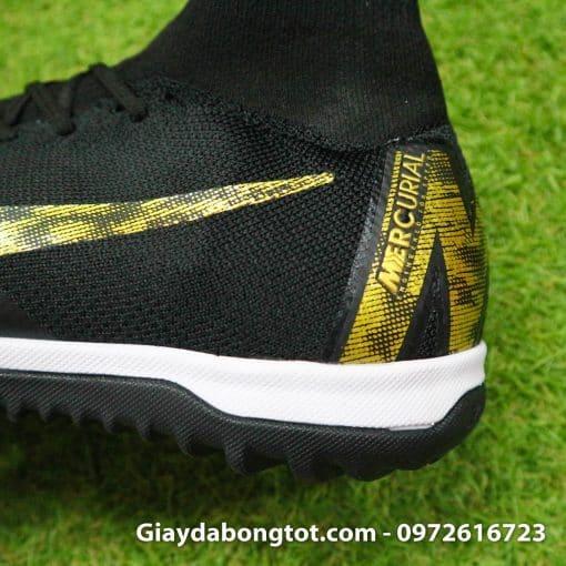 Giay da banh Nike co cao Mercurial Superfly 360 TF mau den 2019 (7)