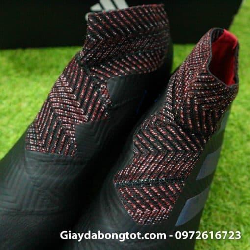 Giay da banh khong day Adidas Nemeziz 19+ mau den moi 2019 (4)