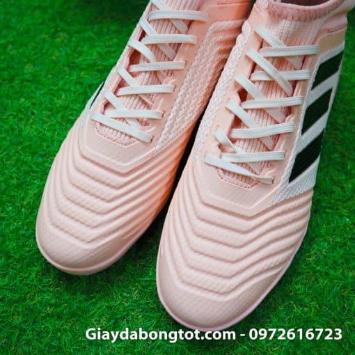 Giay da banh san co nhan tao Adidas Predator 18.3 Hong Phan co cao (5)