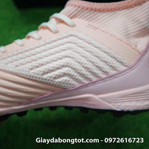 Giay da banh san co nhan tao Adidas Predator 18.3 Hong Phan co cao (6)