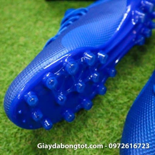 Giay da banh san co nhan tao Adidas X18.3 AG xanh duong dam (5)