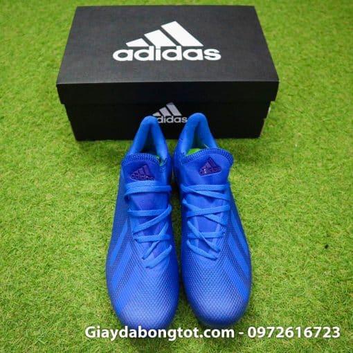 Giay da banh san co nhan tao Adidas X18.3 AG xanh duong dam (7)