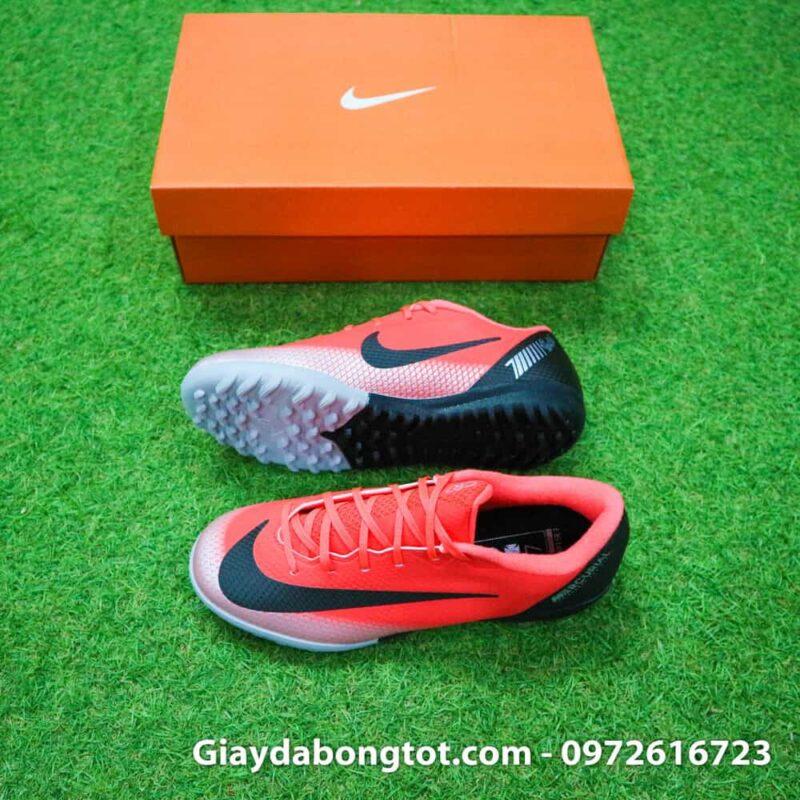 Giay da banh tre em Nike CR7 Mercurial mau Do Den Vapor VII Pro TF (2)