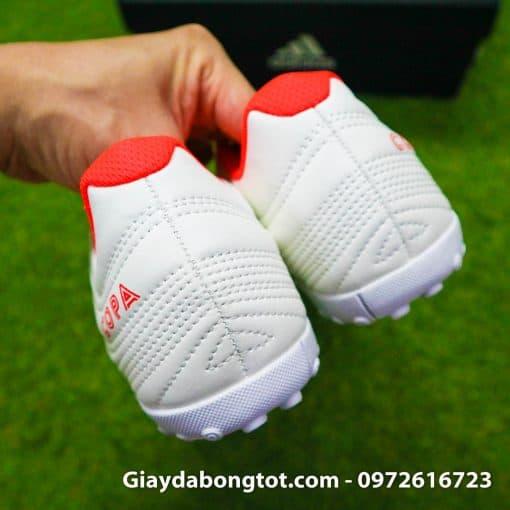 Giay da bong 3 soc Adidas Copa 19.4 TF mau trang sieu nhe da mem (1)