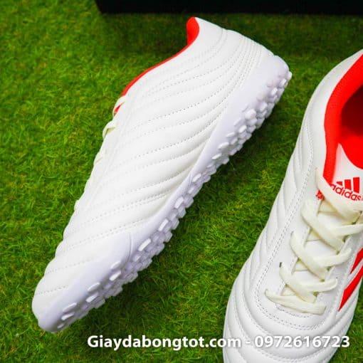 Giay da bong 3 soc Adidas Copa 19.4 TF mau trang sieu nhe da mem (10)