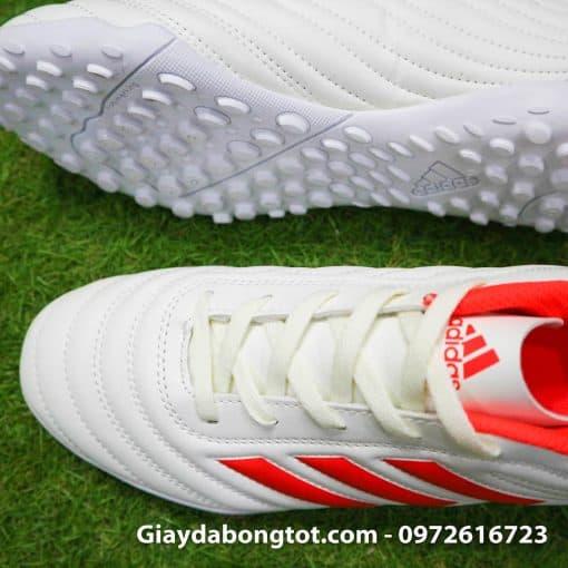 Giay da bong 3 soc Adidas Copa 19.4 TF mau trang sieu nhe da mem (4)