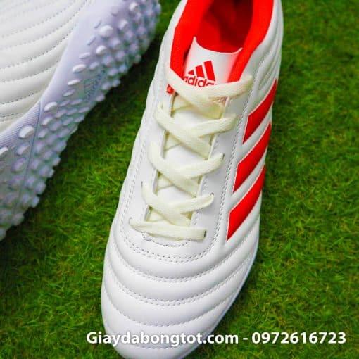 Giay da bong 3 soc Adidas Copa 19.4 TF mau trang sieu nhe da mem (9)