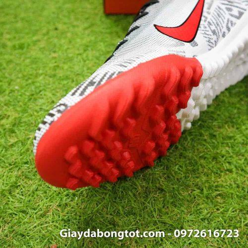 Giay da bong Nike Neymar Mercurial mau den trang vach do 2019 (4)
