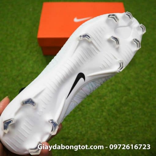Giay da bong Nike cao co Mercurial Superfly VI CR7 mau trang (10)