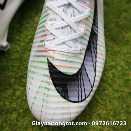 Giay da bong Nike cao co Mercurial Superfly VI CR7 mau trang (9)