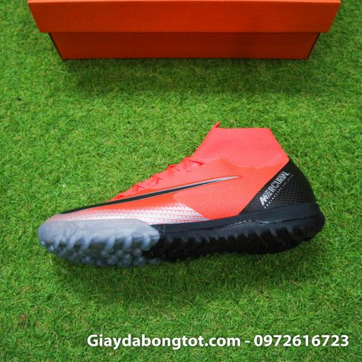 Giay da bong Nike co cao Merurial Superfly 360 CR7 TF mau do got den (12)