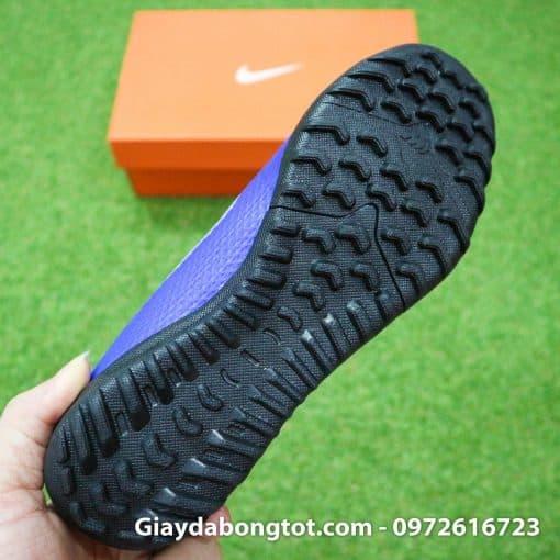 Giay da bong Nike tre em dinh thap mau xanh duong Vapor VII TF (1)