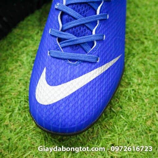 Giay da bong Nike tre em dinh thap mau xanh duong Vapor VII TF (4)