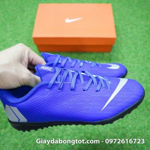 Giay da bong Nike tre em dinh thap mau xanh duong Vapor VII TF (6)