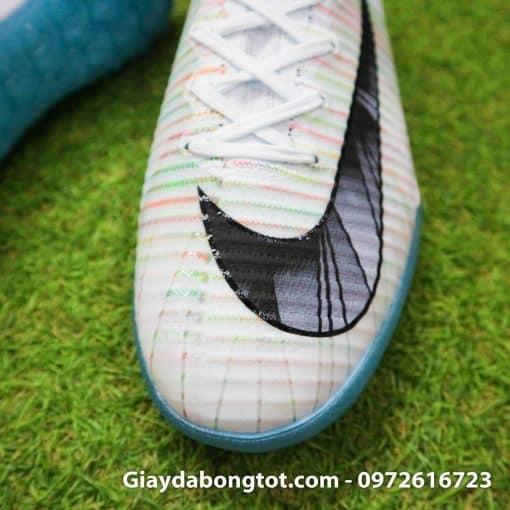 Giay da bong cao co Nike Mercurial Proximo CR7 mau trang 2018 (5)