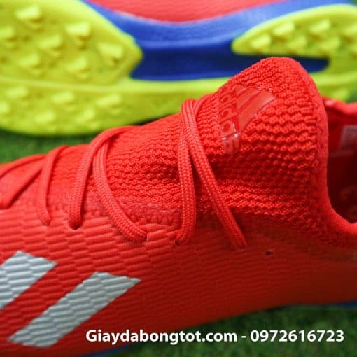 Giay da bong chan be Adidas X19.3 TF mau do vach bac (4)