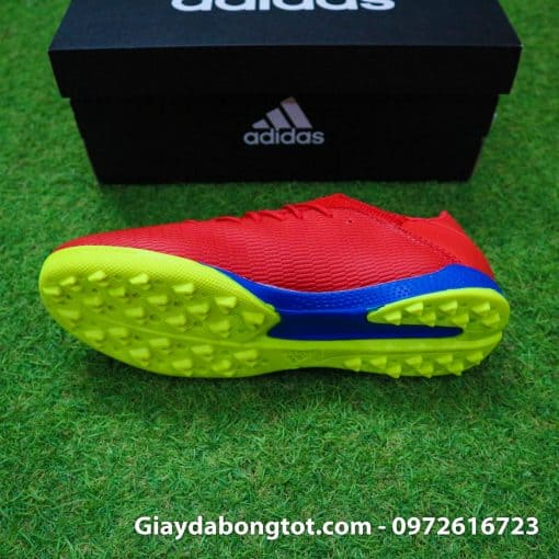 Giay da bong chan be Adidas X19.3 TF mau do vach bac (5)