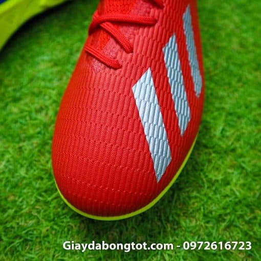 Giay da bong chan be Adidas X19.3 TF mau do vach bac (7)