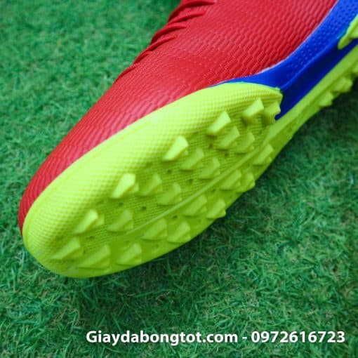 Giay da bong chan be Adidas X19.3 TF mau do vach bac (8)
