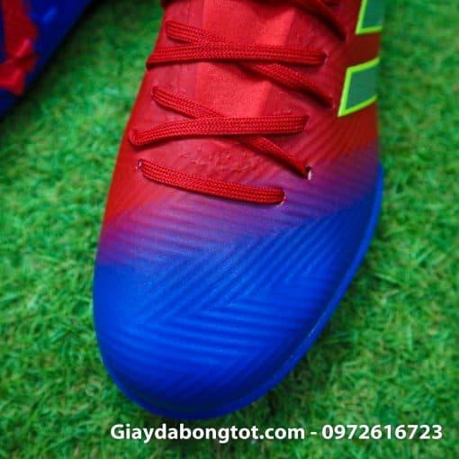 Giay da bong da mem Adidas Nemeziz 18.3 TF do xanh Barcelona (5)
