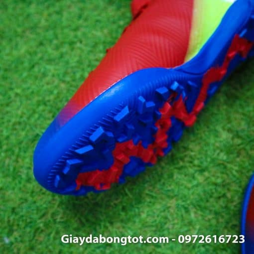 Giay da bong da mem Adidas Nemeziz 18.3 TF do xanh Barcelona (6)