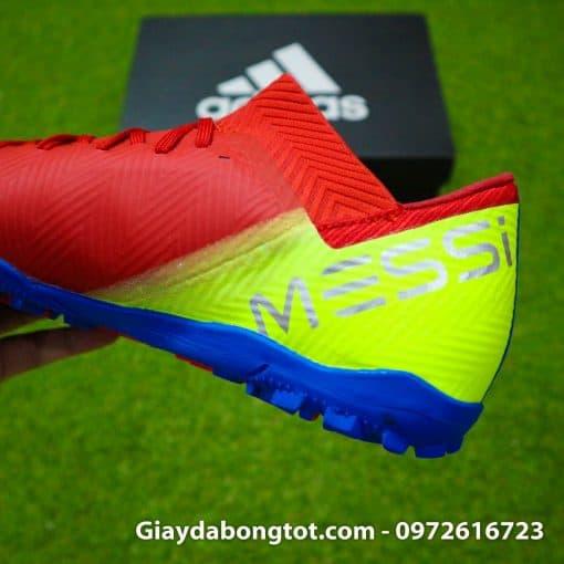 Giay da bong da mem Adidas Nemeziz 18.3 TF do xanh Barcelona (7)
