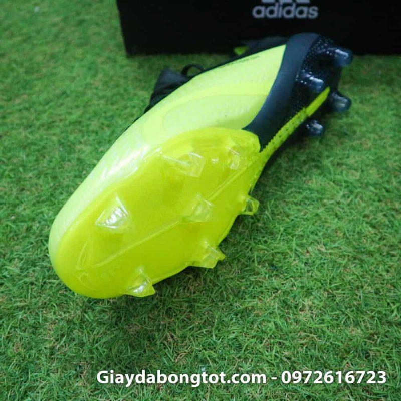 Giay da bong dinh cao Adidas X18.1 FG chuoi den san co (5)