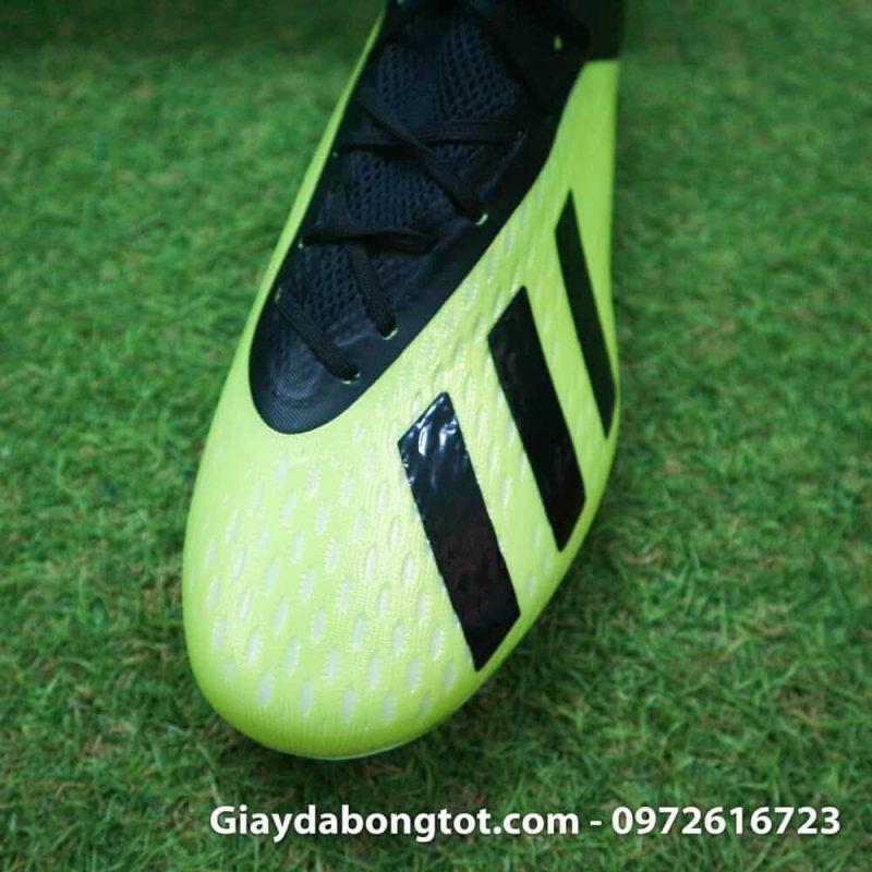 Giay da bong dinh cao Adidas X18.1 FG chuoi den san co (6)