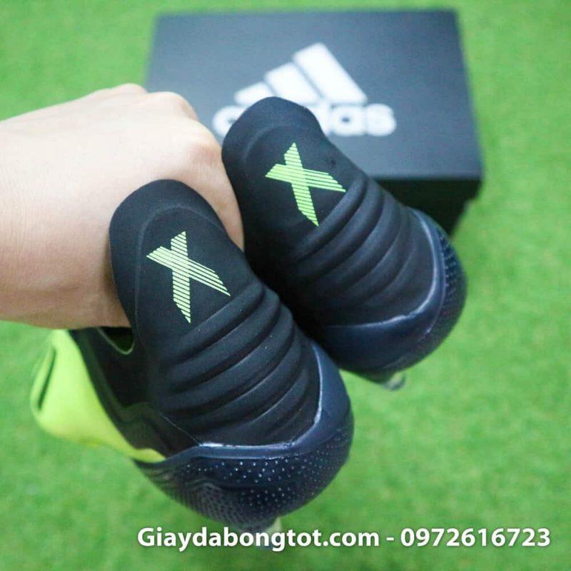 Giay da bong dinh cao Adidas X18.1 FG chuoi den san co (9)