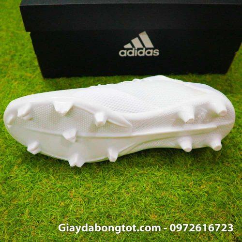 Giay da bong dinh cao sieu nhe Adidas X18.3 FG mau trang 178g (5)